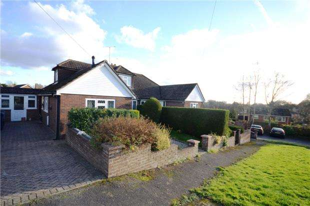 4 Bedrooms Semi Detached Bungalow for sale in Folly Lane North, Farnham, Surrey