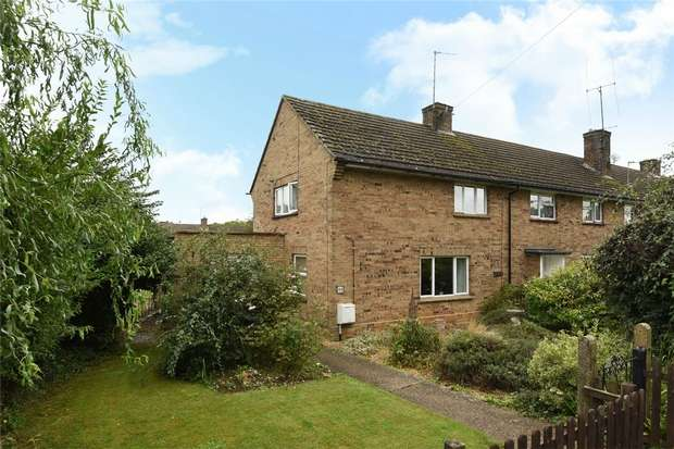 2 Bedrooms End Of Terrace House for sale in Loring Road, Sharnbrook, Bedford