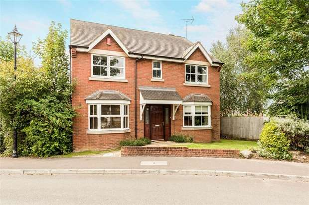 4 Bedrooms Detached House for sale in Uptons Garden, Whitminster, Gloucester