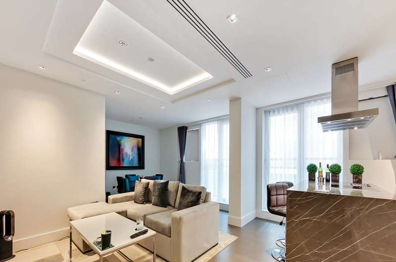2 Bedrooms Flat for sale in Radnor Terrace, Kensington, W14