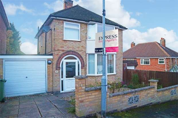 3 Bedrooms Detached House for sale in Sedgefield Drive, Thurnby, Leicester