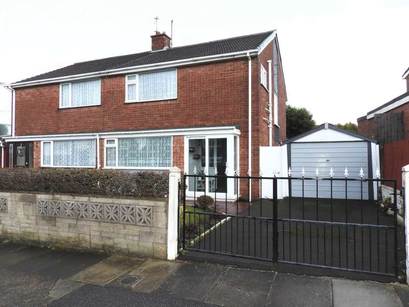 3 Bedrooms Semi Detached House for sale in Millbrook Drive, Old Hall Estate, Kirkby