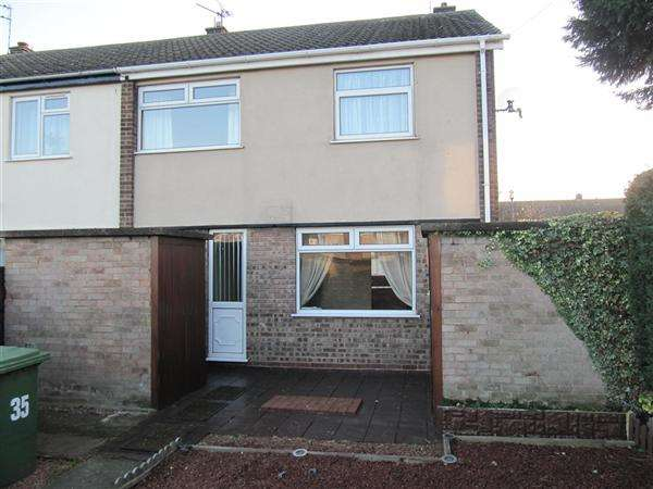 3 Bedrooms End Of Terrace House for sale in Stuart Avenue, Boughton