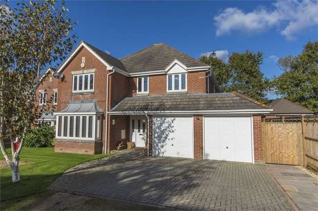 4 Bedrooms Detached House for sale in Orchard Drove, Botley Road, Horton Heath, EASTLEIGH, Hampshire