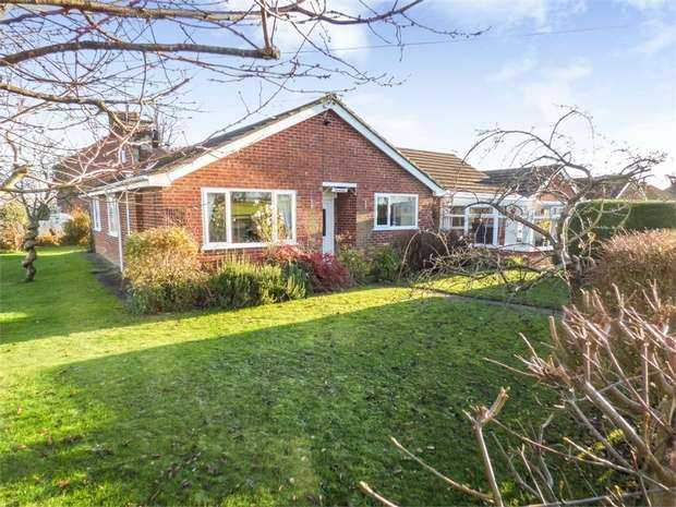 3 Bedrooms Detached Bungalow for sale in Birch Lane, Stanthorne, Middlewich, Cheshire