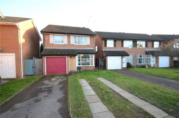 3 Bedrooms Detached House for sale in Harrier Close, Woodley, Reading