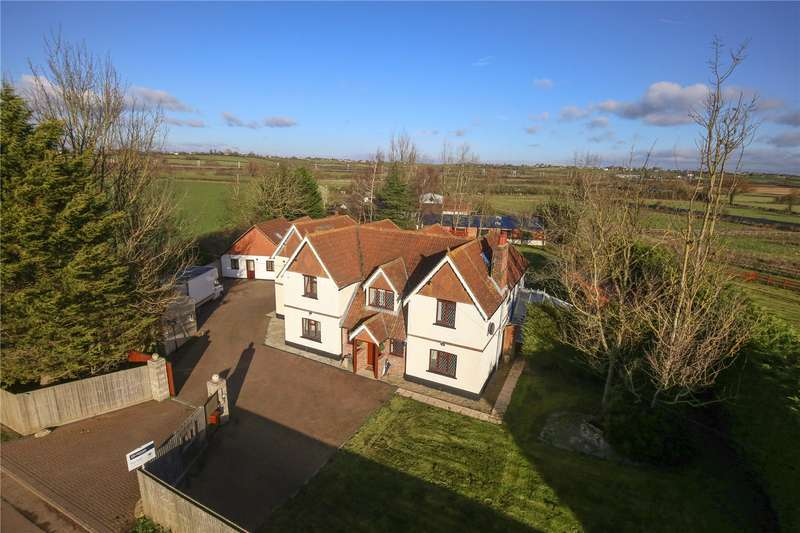 5 Bedrooms Detached House for sale in Grittenham, Nr. Brinkworth, Wiltshire, SN15