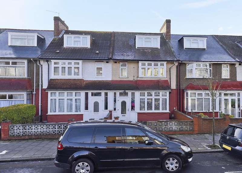 4 Bedrooms Terraced House for sale in Ansell Road, London SW17