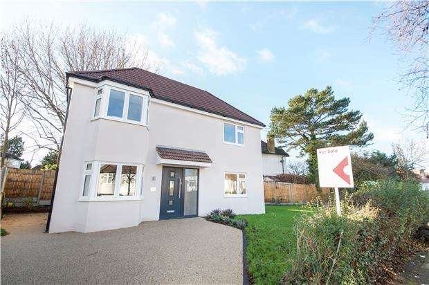 3 Bedrooms Detached House for sale in Summit Close, KINGSBURY, NW9 0UL