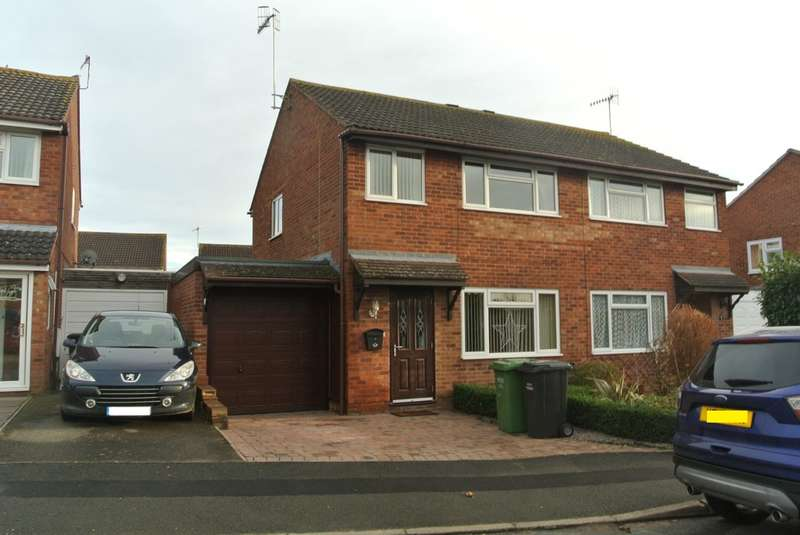 3 Bedrooms Semi Detached House for sale in Laurel Avenue, Evesham