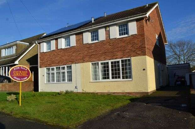 3 Bedrooms Semi Detached House for sale in Aintree Road, Parklands, Northampton NN3 6EA