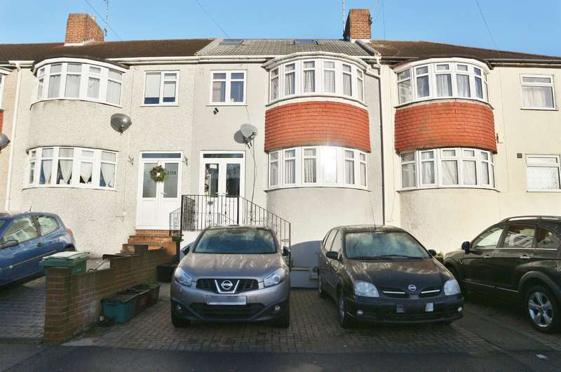 4 Bedrooms Terraced House for sale in Eversley Avenue, Bexleyheath, Kent, DA7 6RQ