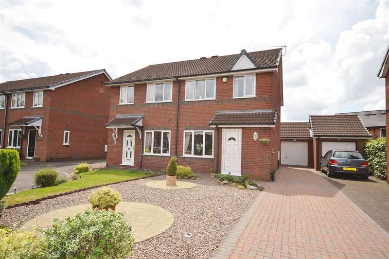 2 Bedrooms Semi Detached House for sale in Oakwood Road, Chorley