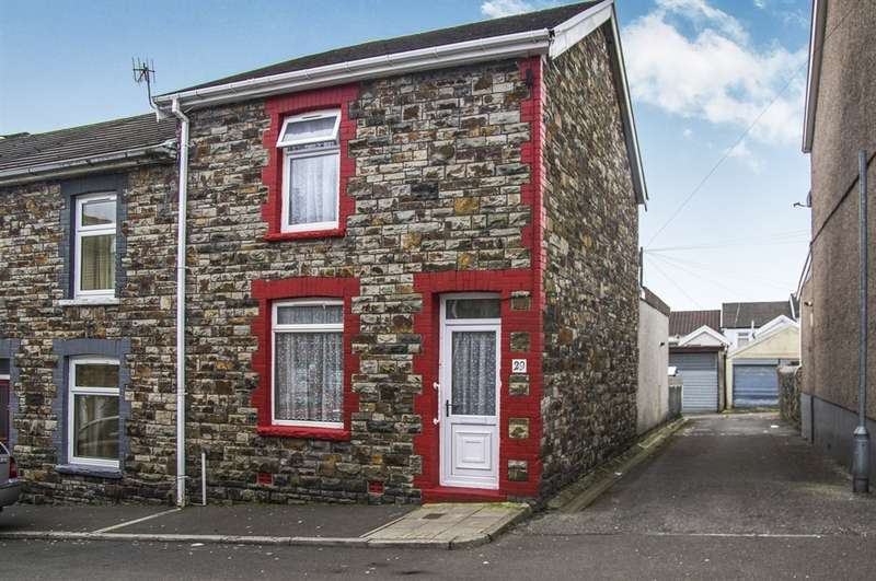 2 Bedrooms End Of Terrace House for sale in Council Street, Penydarren, Merthyr Tydfil