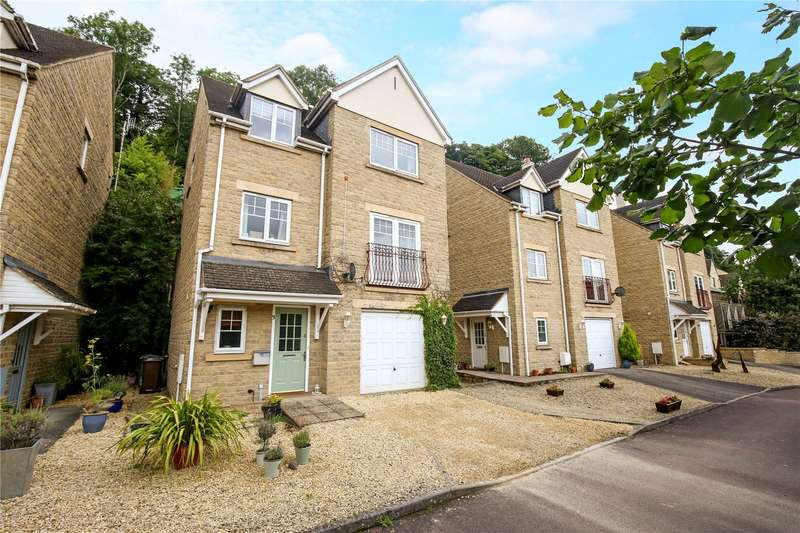 4 Bedrooms Detached House for sale in Mill Close, Brimscombe, Stroud, Gloucestershire, GL5
