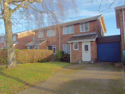 3 Bedrooms Semi Detached House for sale in North Baddesley, Southampton, Hampshire