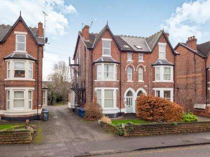 2 Bedrooms Flat for sale in Melton Road, West Bridgford, Nottingham, Nottinghamshire