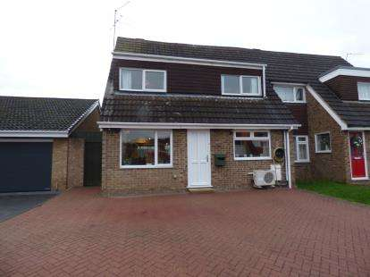 4 Bedrooms Semi Detached House for sale in Westcott Way, Abington Vale, Northampton, Northamptonshire