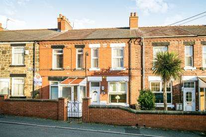 2 Bedrooms Terraced House for sale in New Houses, Park Road, Tanyfron, Wrexham, LL11