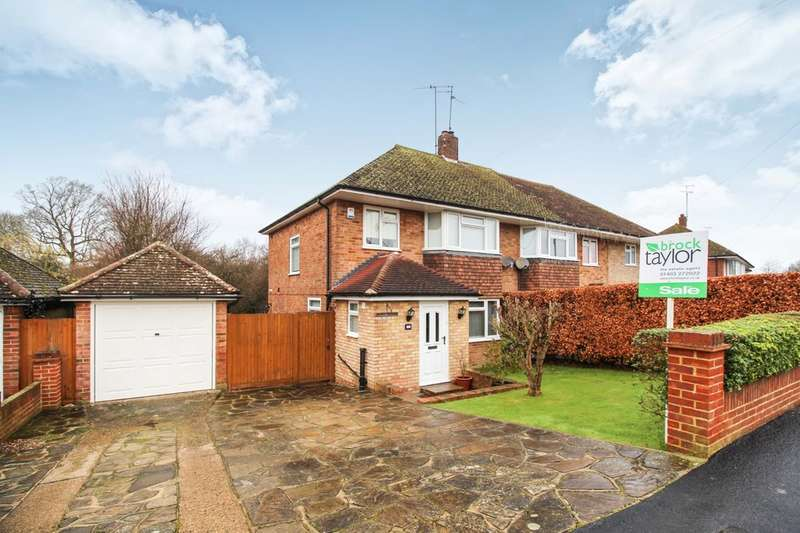 3 Bedrooms Semi Detached House for sale in Merryfield Drive, Horsham