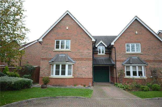 4 Bedrooms Semi Detached House for sale in Summer Court, Sindlesham, Wokingham