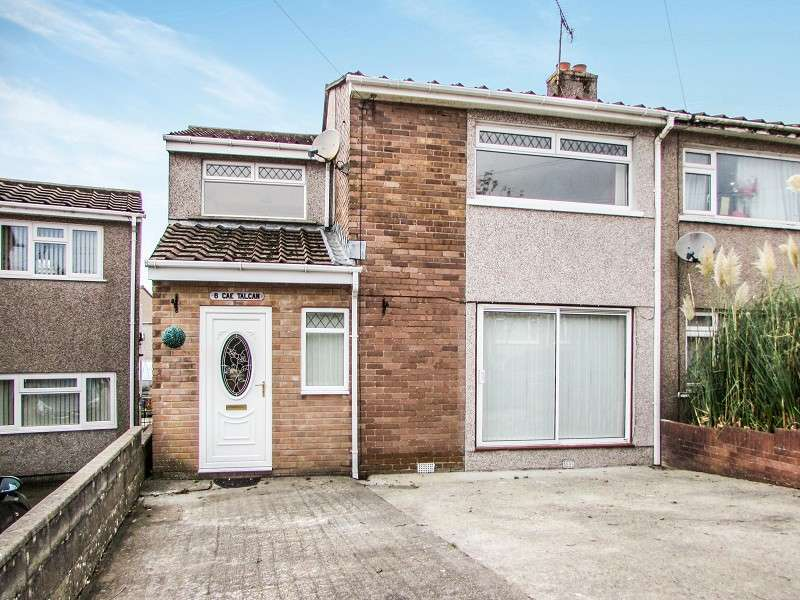 3 Bedrooms Semi Detached House for sale in Cae Talcen , Pencoed, Bridgend. CF35 6RP