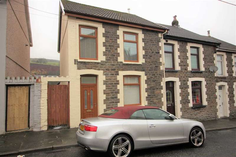 3 Bedrooms End Of Terrace House for sale in George Street, Tonypandy