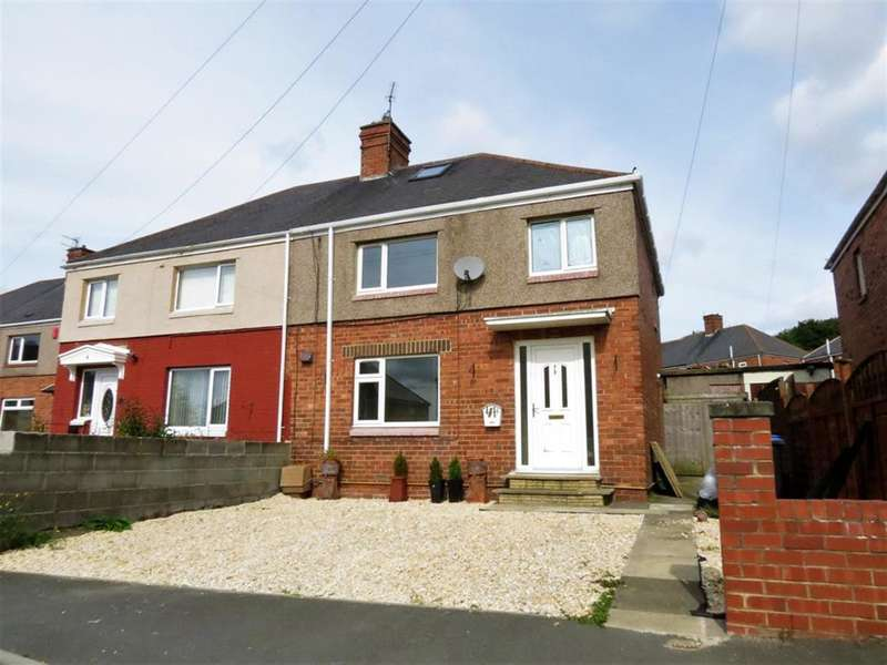 3 Bedrooms Semi Detached House for sale in West Grove, Trimdon Village, County Durham, TS29 6QQ