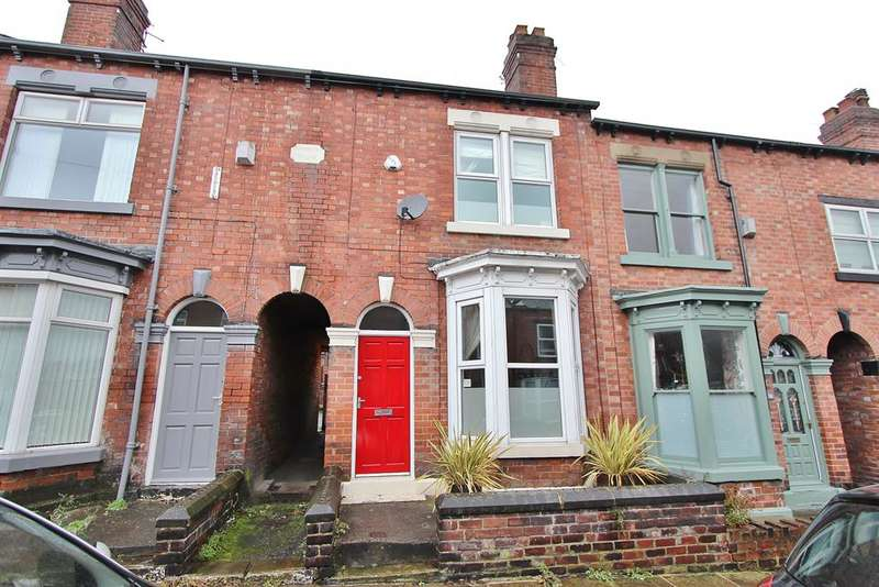 3 Bedrooms Terraced House for sale in Onslow Road, Greystones, Sheffield, S11 7AF