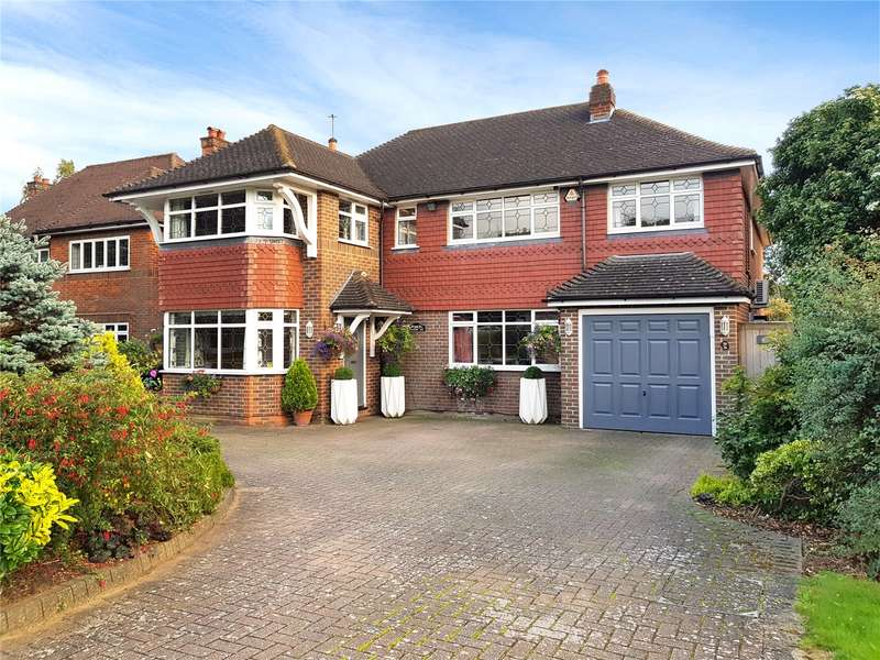 5 Bedrooms Detached House for sale in Faircross Way, St. Albans, Hertfordshire, AL1