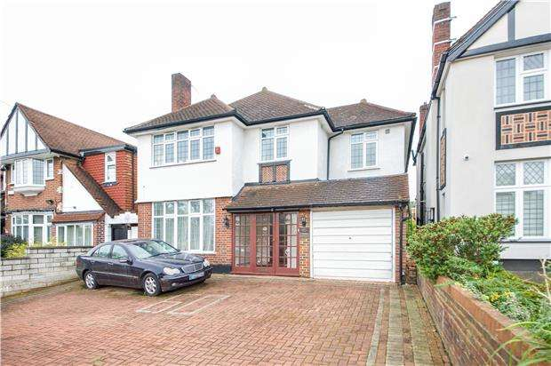 5 Bedrooms Detached House for sale in Sudbury Court Drive, HARROW, Middlesex, HA1 3TD