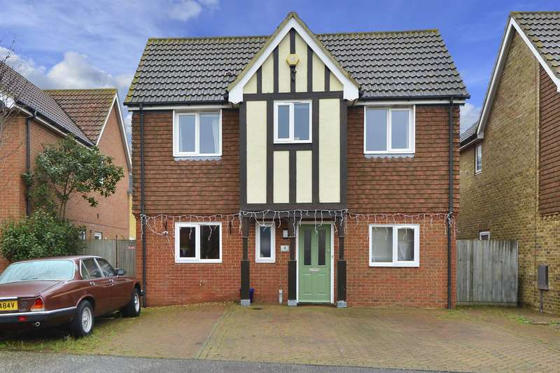 4 Bedrooms Detached House for sale in Eider Close, Herne Bay