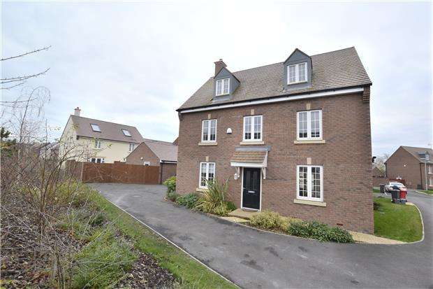 5 Bedrooms Detached House for sale in Shorn Brook Close, Hardwicke, Gloucester, GL2 4AX
