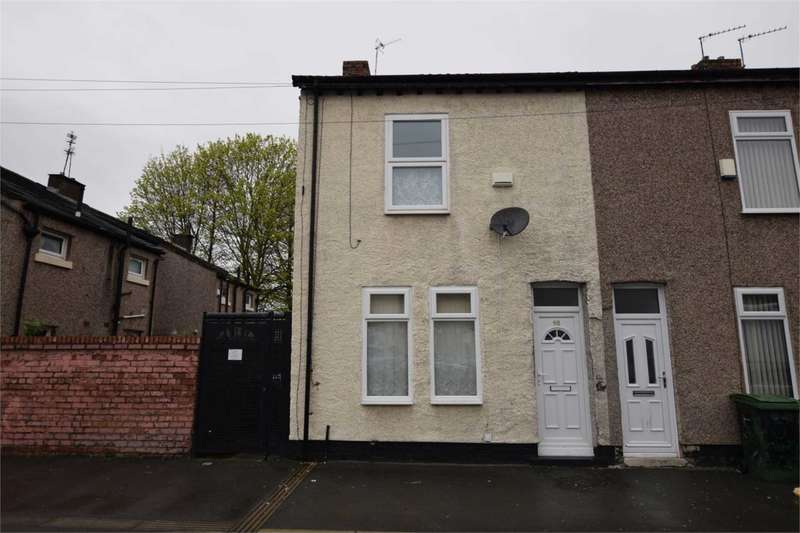 2 Bedrooms End Of Terrace House for sale in Arthur Street, Birkenhead