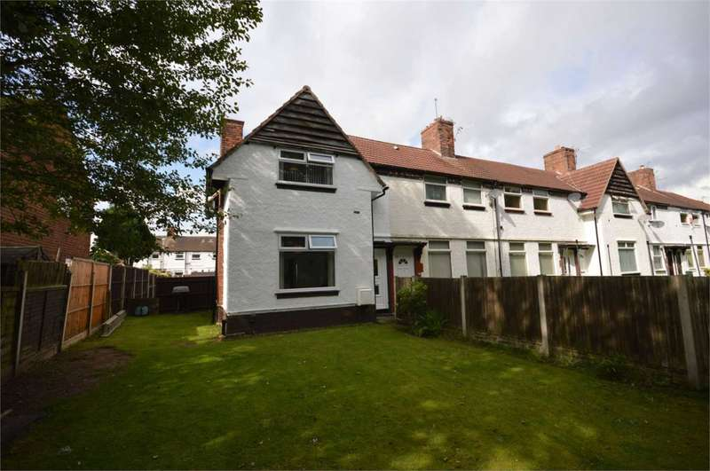 2 Bedrooms End Of Terrace House for sale in Fairway South, Bromborough