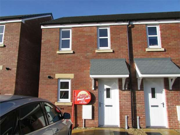 2 Bedrooms Semi Detached House for rent in Heol Waungron, Carway, Kidwelly, Llanelli, Carmarthenshire