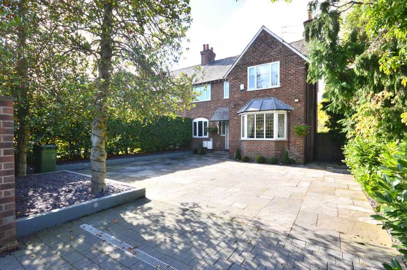 4 Bedrooms Semi Detached House for sale in WOODFORD ROAD, Bramhall