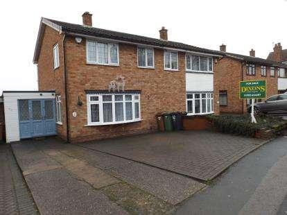 3 Bedrooms Semi Detached House for sale in Bentley Lane, Willenhall, West Midlands