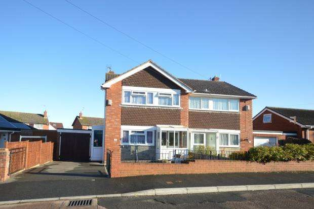 3 Bedrooms Semi Detached House for sale in Surbiton Crescent, Exeter, Devon