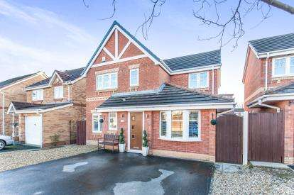 4 Bedrooms Detached House for sale in Carville Grove, Hindley Green, Wigan, Greater Manchester, WN2