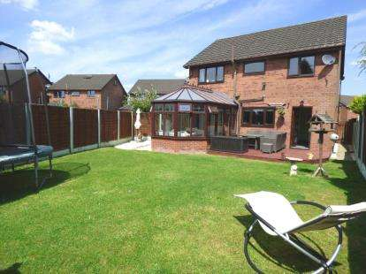 4 Bedrooms Detached House for sale in Rosebank, Lea, Preston, Lancashire