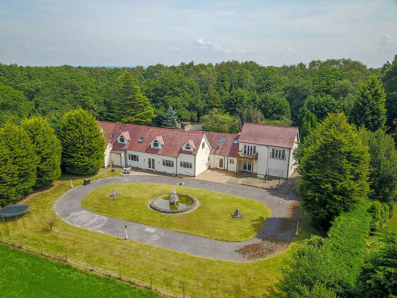 5 Bedrooms Detached House for sale in Middlewich Road, Knutsford