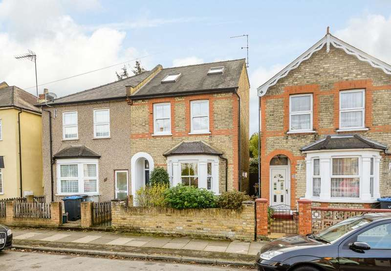 4 Bedrooms Semi Detached House for sale in Beresford Road, Kingston upon Thames KT2