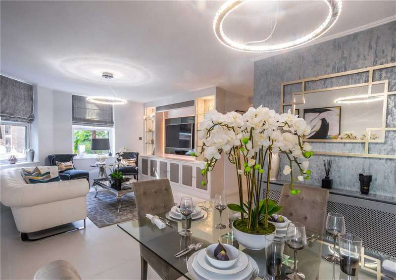 3 Bedrooms Flat for sale in Manor House Court, London, W9