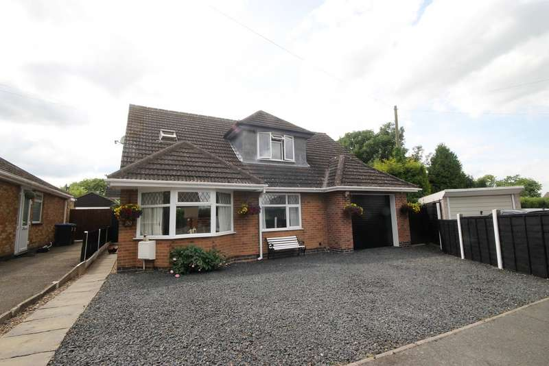 5 Bedrooms Property for sale in Hillside Road, Burbage LE10