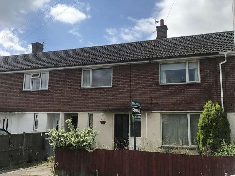 3 Bedrooms Terraced House for sale in Balderton, Moulton Crescent NG24