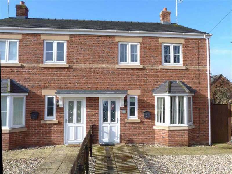 3 Bedrooms Semi Detached House for sale in Beech View, Holyhead Road, Oswestry, SY11
