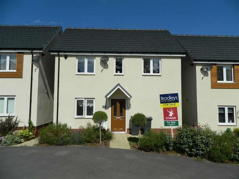 4 Bedrooms Detached House for sale in Coburg Crescent, Chudleigh, Newton Abbot, Devon, TQ13