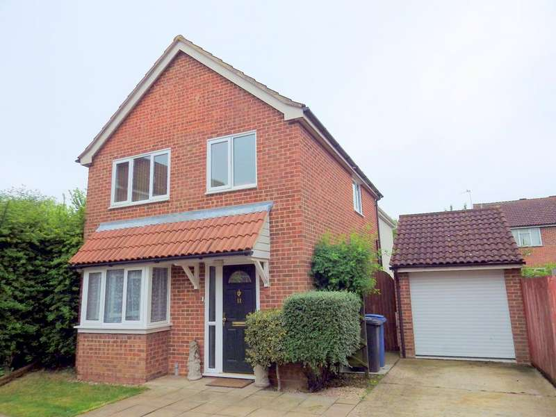 4 Bedrooms Detached House for sale in Brices Way, Glemsford CO10