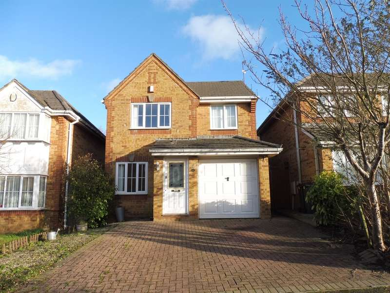 3 Bedrooms Detached House for sale in Cork Drive, Pontprennau, Cardiff